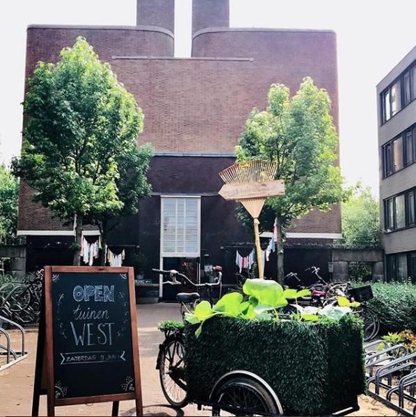 De Tuinen Van West Amsterdam.Open Tuinen Dag West 2019 Midwest